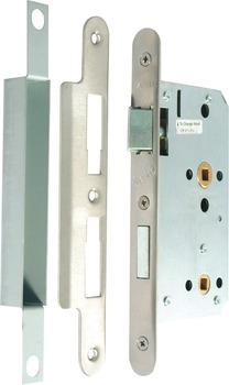 Bathroom Lock, Mortice, Radius Forend, Case Size 92 mm ...
