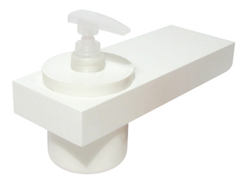 Bathroom Shelf, with Soap Dispenser, Programma Cap Range, PBA