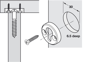 Bed Fittings, Capsule Bed Connecting Fitting
