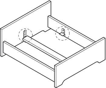 Bed Fittings, Tie Bar Support, Adjustable
