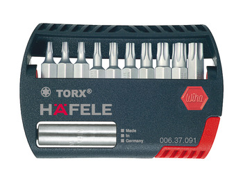 Bit Box, TS, with Magnetic Holder, Häfele