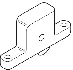 Bottom Roller, for Sliding Interior and Exterior Doors, Straightaway 710