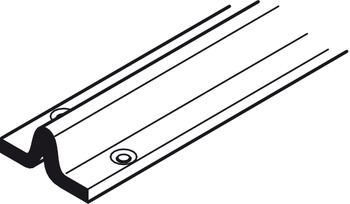 Bottom Track, for Sliding Interior and Exterior Doors, Straightaway 700