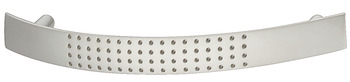 Bow Handle, Zinc Alloy, Fixing Centres 96-128 mm, Dimple