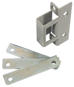 Box Keeper, for Flush Fitting Door/Frame Applications and Double Rebated Doors