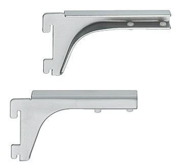 Bracket, for 8-10 mm Glass Shelves, Length 120 mm, Shoptec Shopfitting System