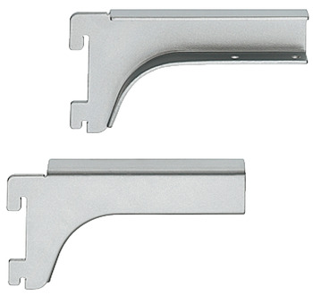 Bracket, Length 120 mm, with Two Hooks, Shoptec Shopfitting System