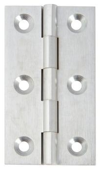 Broad Style Hinge, 64 x 35 mm, Brass
