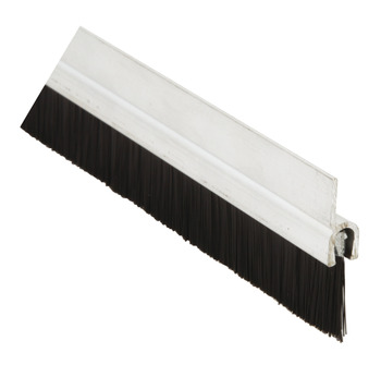 Brush Strip, Length 914 mm, Aluminium or PVC