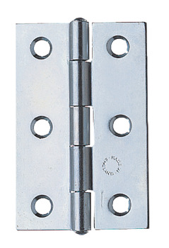 Butt Hinge, 75 x 49 mm, Steel