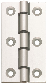 Butt Hinge, 75 x 50 mm, Aluminium