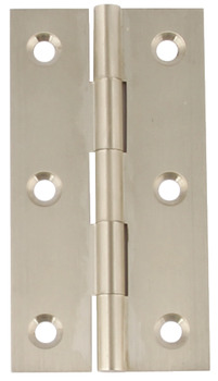 Butt Hinge, 76 x 40 mm, Brass