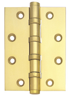 Butt Hinge, Ball Bearing, 101 x 75 mm, Brass