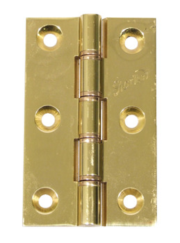 Butt Hinge, DPBW, Brass, 76 x 50 mm
