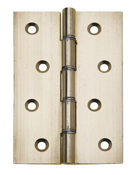 Butt Hinge, DSW, with Steel Pin, Brass