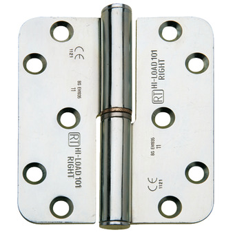 Butt Hinge, Lift-Off, 100 x 88 mm, Brass