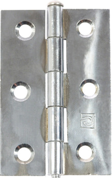 Butt Hinge, Removable Pin, 75 x 49 mm, Steel