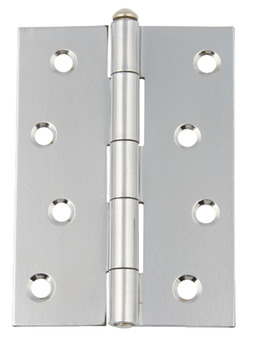 100X72Mm Flap 1.8Mm Satin Hafele Butt Hinge Removable Pin Steel 1840 Lxw