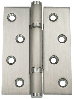 Butt Hinge, Shrouded Bearing, 3 Knuckle, Fixed Pin, Stainless Steel, Phoenix