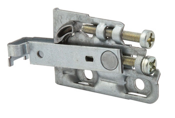 Cabinet Hanger, Screw Fixing, Zinc Plated Steel, Scarpi-4