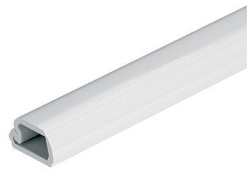 Cable Channel, Length 2500 mm, with Hinged Lid