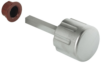 Caravan Key Handle, with 7 mm Square Spindle and Guide Insert, Ø 35 mm