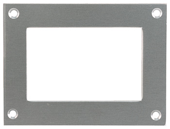 Card Frame, 100 x 75 mm, Stainless Steel or Aluminium