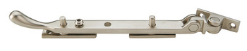 Casement Stay, Locking, with Non Removable Captive Locking Cap, Brass