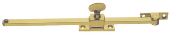 Casement Stay, Sliding, Length 254/305 mm, Brass