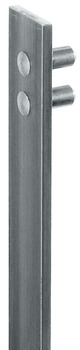 Central locking bar, for Use with Central Locking Rotary Cylinder, Bright Steel