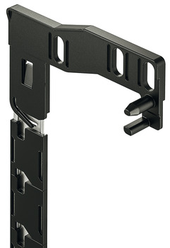 Central Locking Bar, Installation Height 493-941 mm, MX