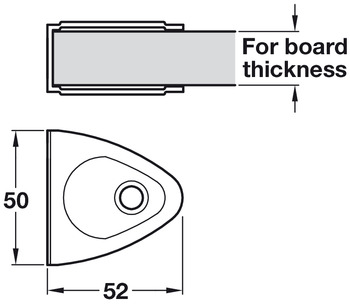 Channel Bracket, Challenger, Cubicle Fittings
