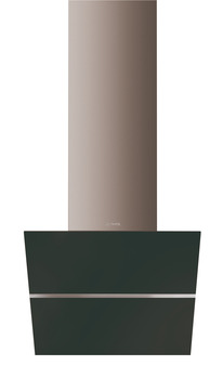 Chimney Hood, Angled, Tilting Glass, 600 mm, Smeg Linea