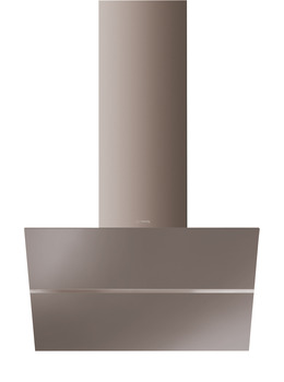 Chimney Hood, Angled, Tilting Glass, 800 mm, Smeg Linea