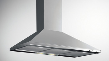 Chimney Hood, Stainless Steel, 600 mm
