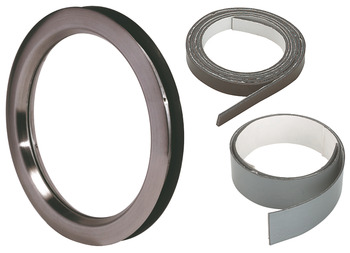 Circular Vision Panel Set, Ø 350 mm, 30 min, Fire Rated, Stainless Steel