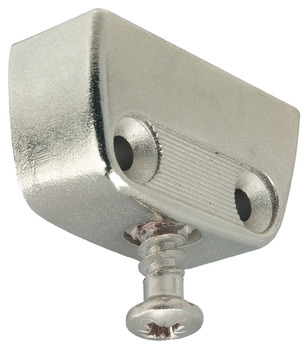 Clip Cabinet Connector, RV/O Top Element with Pre-Mounted Connecting Screw