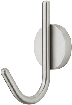 Coat Hook, Stainless Steel, 70 x 105 mm
