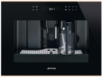 Coffee Machine, Compact, Ground Coffee or Beans, Smeg Dolce Stil Novo