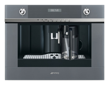 Coffee Machine, Fully Automatic, Ground Coffee or Beans, Smeg Linea