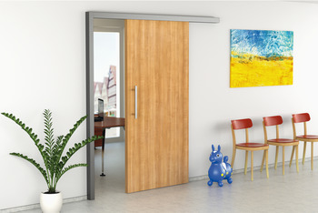 Complete Set, for 1 Door, for Sliding Interior Doors, Slido Classic 80-S