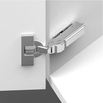 Concealed Cup Hinge, 110°, for 30° Angle, Click on Arm, Tiomos