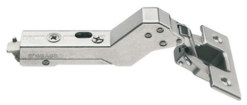 Concealed Cup Hinge, 110°, for 45° Angle Cabinets, Inset Mounting, Tiomos