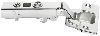 Concealed Cup Hinge, 110°, Full Overlay Mounting, Smuso Quick Fixing Straight Hinge Arm, Häfele