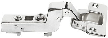 Concealed Cup Hinge, 110°, Inset Mounting, Smuso Quick Fixing 17 mm Cranked Arm, Häfele