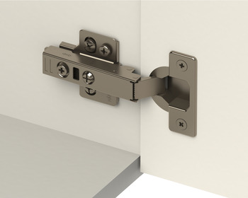 Concealed Cup Hinge, 110° Integrated Soft Close, Full Overlay Mounting, with Standard Depth Adjustment, Häfele Smuso