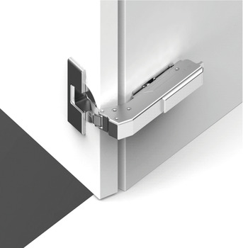 Concealed Cup Hinge, 110° Post, Blind Corner, Click on Arm, Screw Fixing Cup, Tiomos