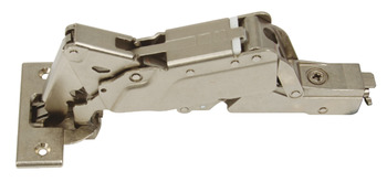 Concealed Cup Hinge, 160° Handle-less, Without Spring, Click on Arm, Tiomos Tipmatic