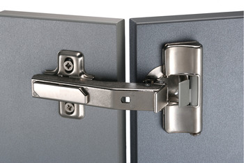 Concealed Cup Hinge, 90° Post, Click on Arm, Häfele