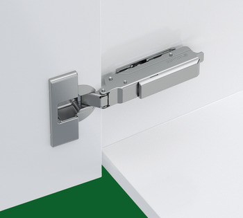 Concealed Cup Hinge, 95° Standard, for Up to 28 mm Thick Doors, Full Overlay Mounting, Click on Arm, Tiomos